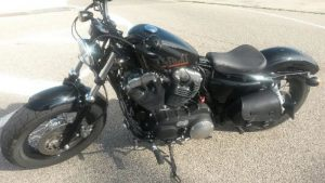 Sacoches Myleatherbikes Harley Sportster Forty Eight (20)